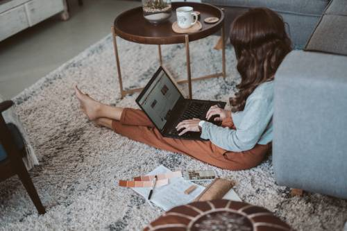 Canva - Photo Of Woman Typing On Lapto